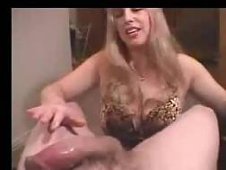 1 min - Tasty hand job from his wife