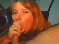 2 min - Horny wife oral in car