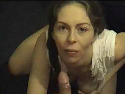 4 min - Natural busty wifey hand job in her mouth