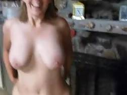 6 min - My gf and her huge hooters take my cock