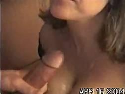 1 min - Jizz on my girlfriends big knockers