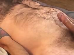 4 min - Tattooed buddy gets his big penis jerked