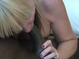 12 min - Mature big tits giving blowjob to BBC