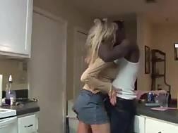 19 min - Mature swinger wife fucks black bull at home