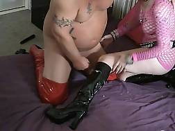 9 min - Nasty granny takes care of a hard penis