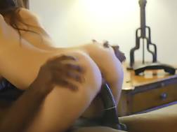 1 min - Wifey riding her first big black penis