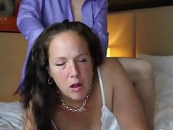 4 min - Horny mature girl gets penetrated from behind