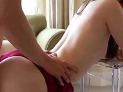 9 min - Sexual brunette chick gets fucked from behind