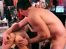 8 min - Sub oriental wife with fuck machine in porn dungeon