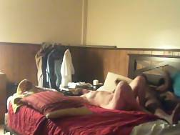 4 min - Interracial screamer on spy cam