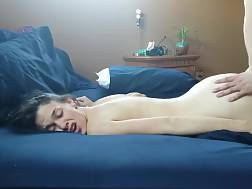 12 min - Pretty babe gets dicked and facialized