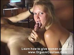 16 min - Takes huge dick mouth