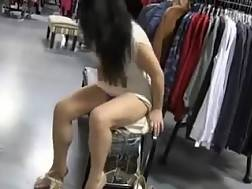 7 min - My depraved gf flashes her huge natural boobs in a shop