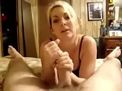 8 min - Awesome POV with my light haired lover working on my dick