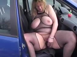 3 min - Obese elderly wife penetrates