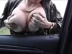 4 min - Filthy hooker shows jugs