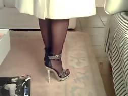 3 min - Stockings wife one