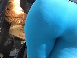 3 min - fattie big butt wearing