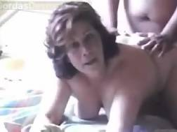 2 min - Cougar white busty wife