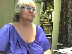 13 min - Filthy curvy granny shows