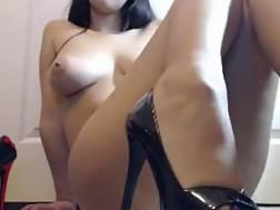3 min - Superb hispanic chick topless