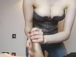 11 min - My well-endowed gf milks my boner dry on her big natural knockers