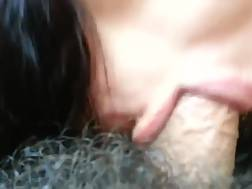 8 min - Dark haired slut bj