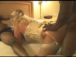 18 min - Black gang fuck 3some