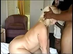 6 min - Blondie curvy mature lady