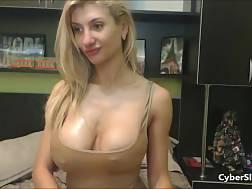 8 min - Hottie big boobs