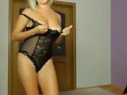 8 min - Russian cutie shows huge