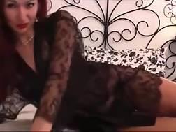 10 min - Redhead mother babe black