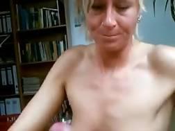 17 min - Mature german lady blow