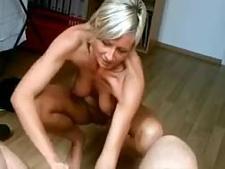 17 min - Mature german lady blow