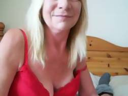 10 min - Blonde grandmother suck big
