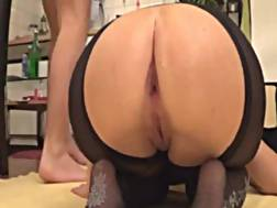 8 min - Stretching girlfriends backdoor couple