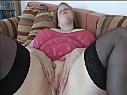 6 min - Fat slut black stockings