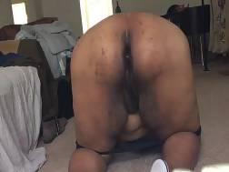 3 min - Ebony bbw takes black