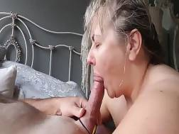 4 min - Busty mature wifey sucks