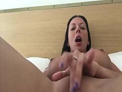 2 min - Excellent busty darkhaired whore