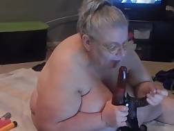 2 min - Kinky fat granny blowing