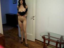 2 min - taking tight dress