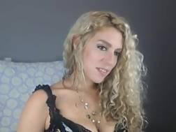 24 min - Pretty solo blond princess teasing