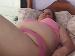 4 min - Fat wifey plowed bed