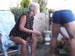 8 min - Mature couple sex balcony
