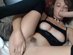 22 min - Tiny bitch stuffs holes