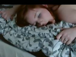 36 min - Submissive redhead chick bang