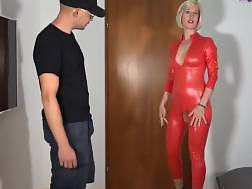 7 min - German anal latex mother