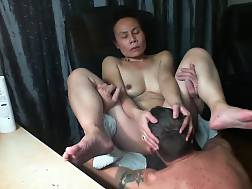 10 min - Mature oriental licked eaten