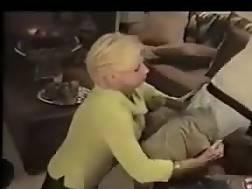 36 min - White wife fucks black